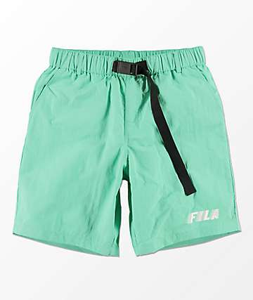 FILA Mondy Cockatoo shorts en color menta