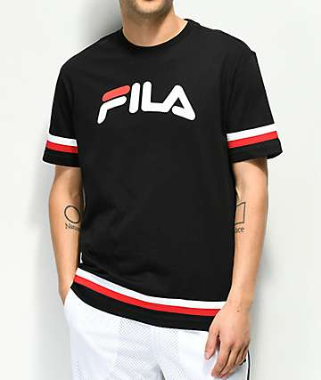 FILA Riley Black T-Shirt