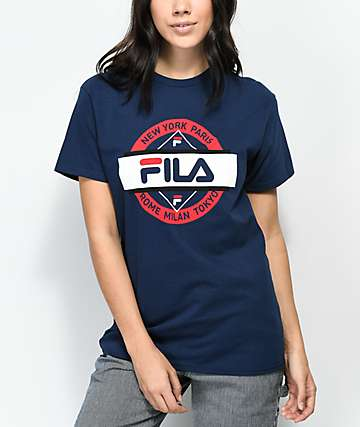 FILA Seal Navy T-Shirt