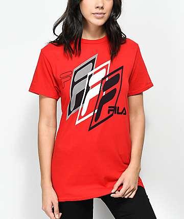 FILA Skew camiseta roja