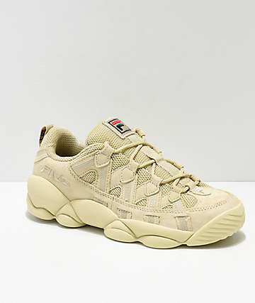 FILA Spaghetti Low Tan Shoes