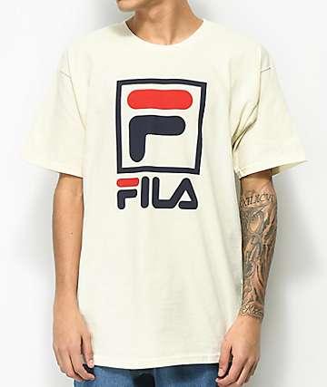 FILA Stacked Gardenia T-Shirt