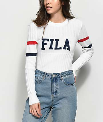 FILA Toni White Sweater