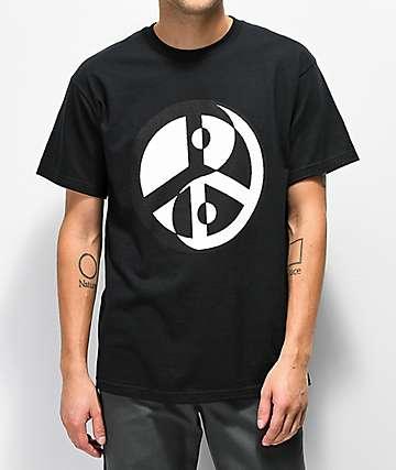 FRESHHELL Peace & Balance Black T-Shirt