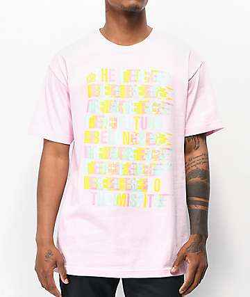 FYG Belongs To Misfits Pink T-Shirt