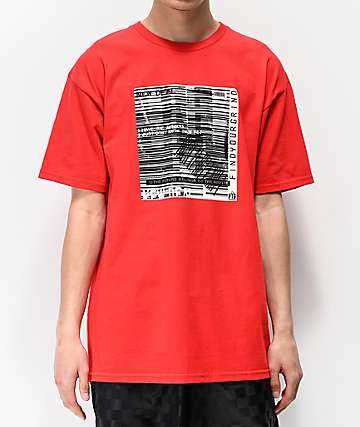 FYG Find Your Grind Red T-Shirt