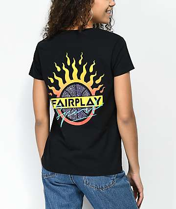 Fairplay Basketball Jams Black T-Shirt
