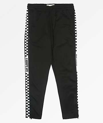 Fairplay Black Track Sweatpants