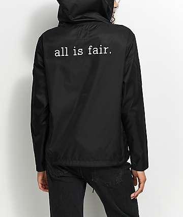 Fairplay Bolton Black & White Shell Jacket
