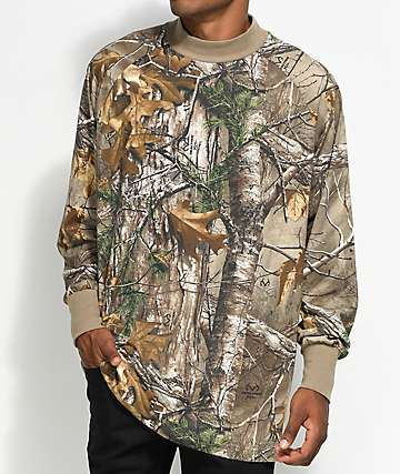 Fairplay Branch Realtree Mock Neck Shirt