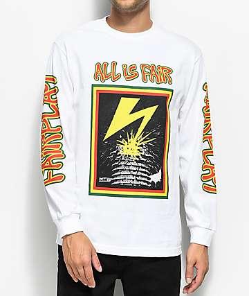 Fairplay Capital Long Sleeve White T-Shirt