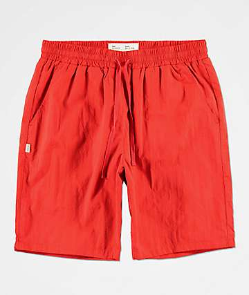 Fairplay Cardi Red Nylon Shorts
