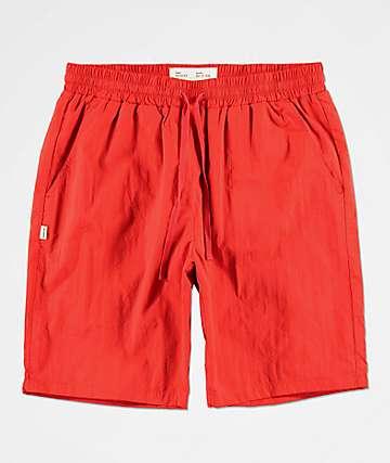 Fairplay Cardi Red Nylon Shorts
