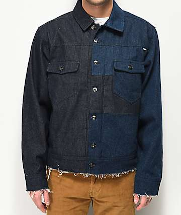 Fairplay Chenoweth Blocked Denim Jacket