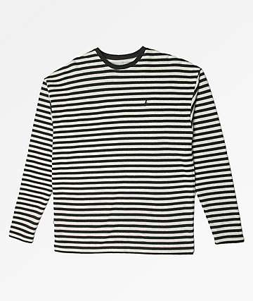 Fairplay Jamil Striped Long Sleeve Knit T-Shirt