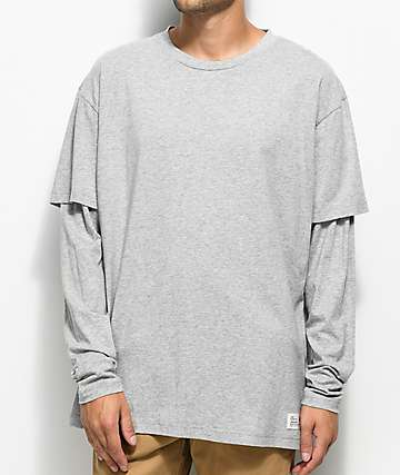 Fairplay Kenyon Long Sleeve Grey T-Shirt