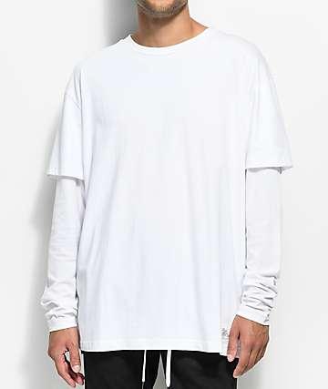Fairplay Kenyon Long Sleeve White T-Shirt
