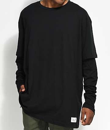 Fairplay Kenyon Set In camiseta negra de manga larga