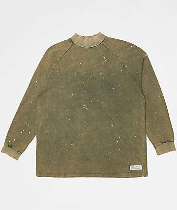 Fairplay Marlow Olive Long Sleeve Knit Shirt