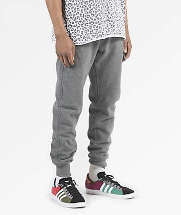 Fairplay Mayers Cargo Charcoal Sweatpants