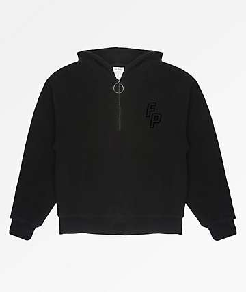 Fairplay Monotone Black Hoodie