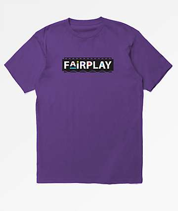 Fairplay Pam Purple T-Shirt