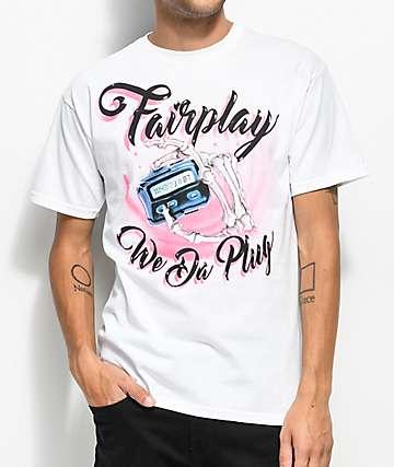 Fairplay Plug White T-Shirt