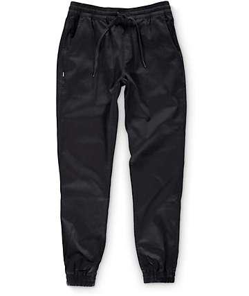 Fairplay Runner Black Jogger Pants
