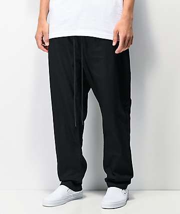 Fairplay Runner Relaxed Classic Black Pants