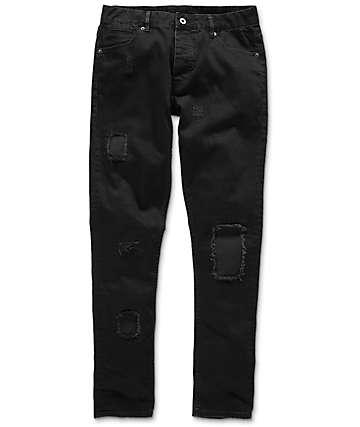 Fairplay Strummer Rip Black Denim Jeans