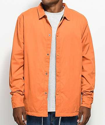 Fairplay Tauro Orange Coaches Jacket