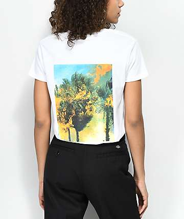 Fairplay Wildlands Palm White T-Shirt