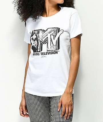 Fairplay x MTV Stop Hate camiseta blanca