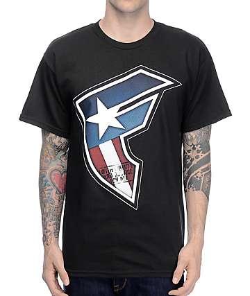 Famous Justice Black T-Shirt