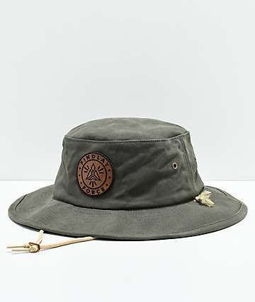 Findlay Dog Wood Olive Boonie Bucket Hat