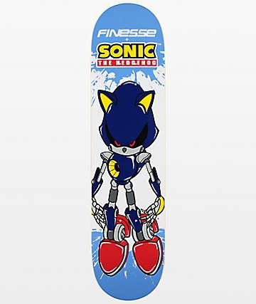 """Finesse Metal Sonic 7.75"""" Skateboard Deck"""