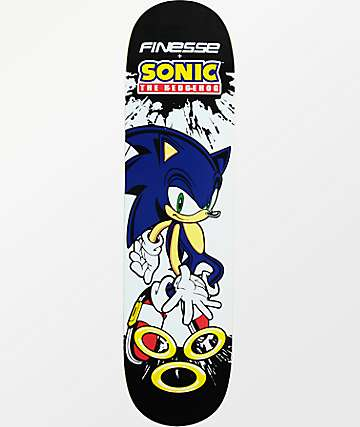 "Finesse Sonic The Hedgehog 8.0"" Skateboard Deck"