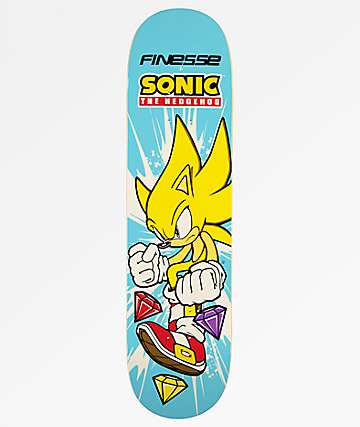 "Finesse Super Sonic 8.0"" tabla de skate"