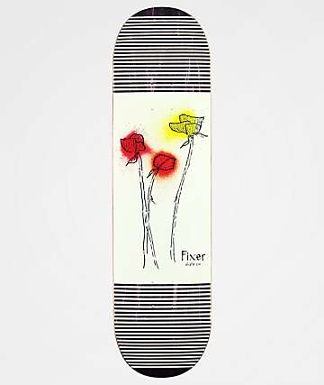 "Fixer Super 8 Flower 8.5"" Skateboard Deck"