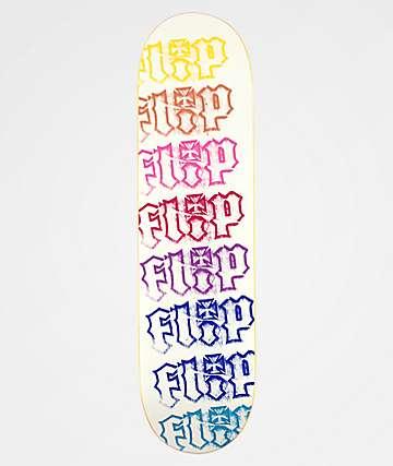 """Flip HKD Spectrum 8.4"""" White Skateboard Deck"""