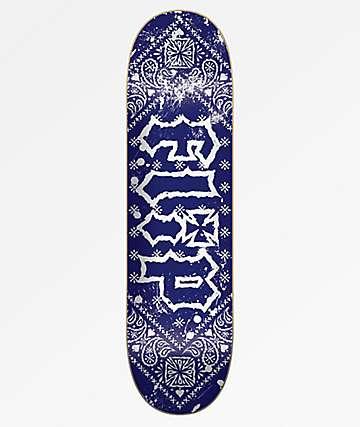 "Flip Team HKD Bandana Blue 8.25"" Skateboard Deck"