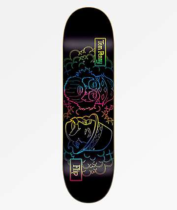 "Flip Toms Friends Backlight 8.25"" Skateboard Deck"