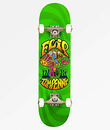 "Flip x Tom Penny Love Shroom Green 8.0"" Skateboard Complete"