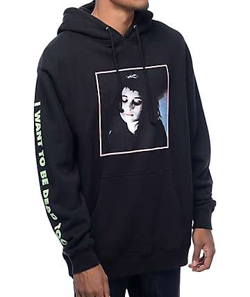 Flying Coffin Lydia Black Hoodie
