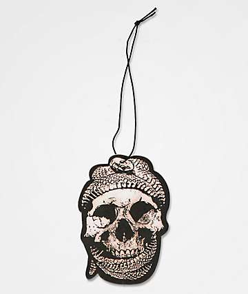 Flying Coffin Snake Skull Glow In The Dark Air Freshener