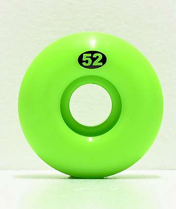 Form Lime Green 52mm Skateboard Wheels