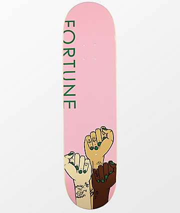 "Fortune Girl Power 8.0"" Skateboard Deck"
