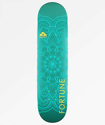 "Fortune Manny Mantra 8.0"" Skateboard Deck"
