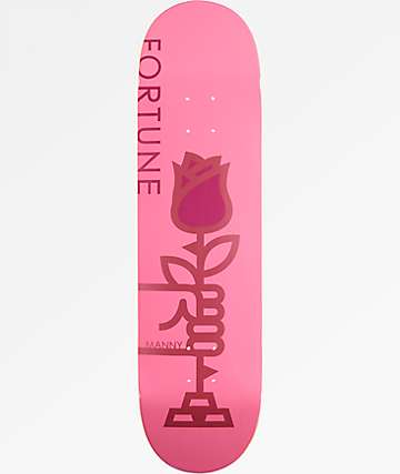 "Fortune Manny Rose 8.25"" Skateboard Deck"