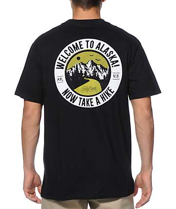 Forty Ninth Supply Co Take A Hike camiseta